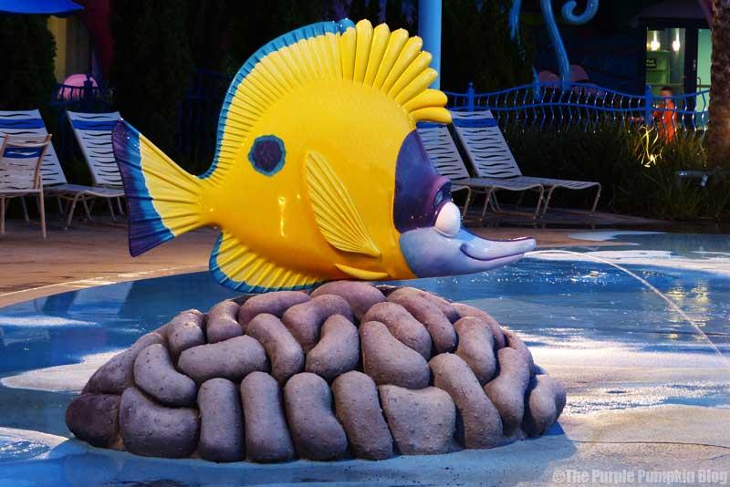 Disney's Art of Animation Resort - The Big Blue Pool - Tad