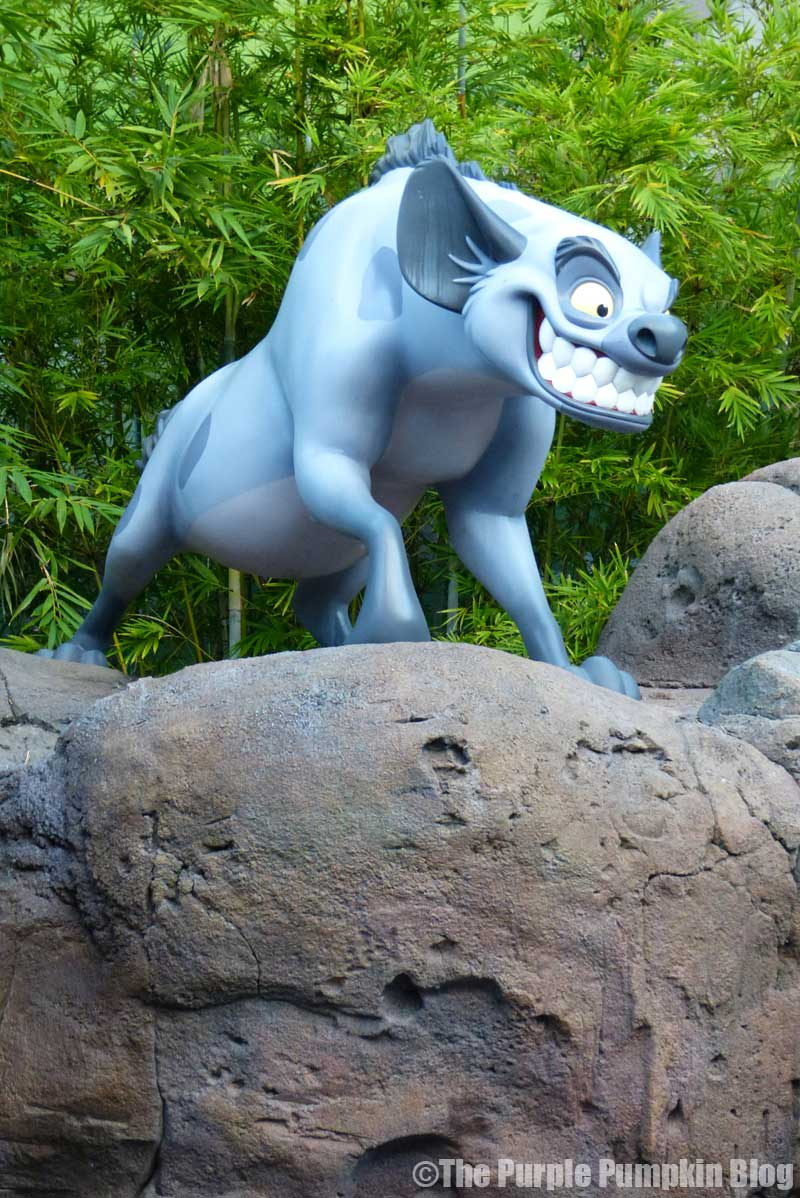 Disney's Art of Animation Resort - The Lion King Courtyard - Banzai Statue