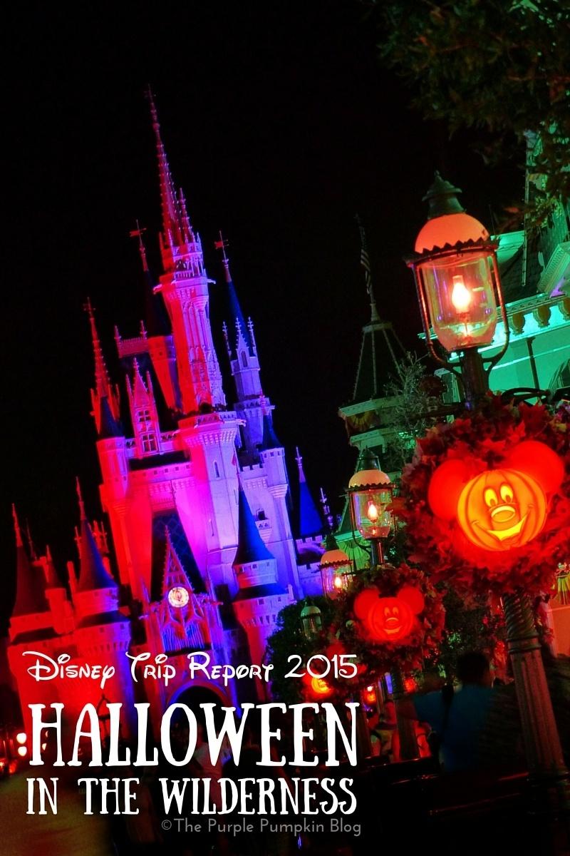 Disney Trip Report Halloween in the Wilderness