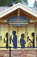 Epcot Food & Wine Festival 2015 - Desserts & Champagne Booth