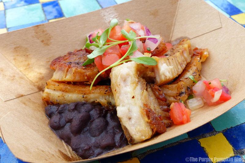 Epcot Food & Wine Festival 2015 - Crispy Pork Belly