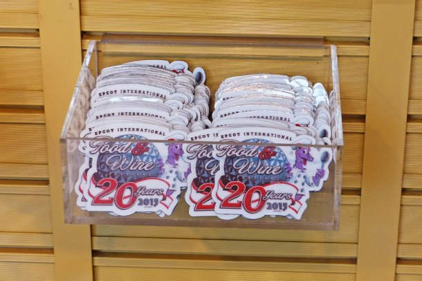 Epcot Food & Wine Festival Merchandise 2015
