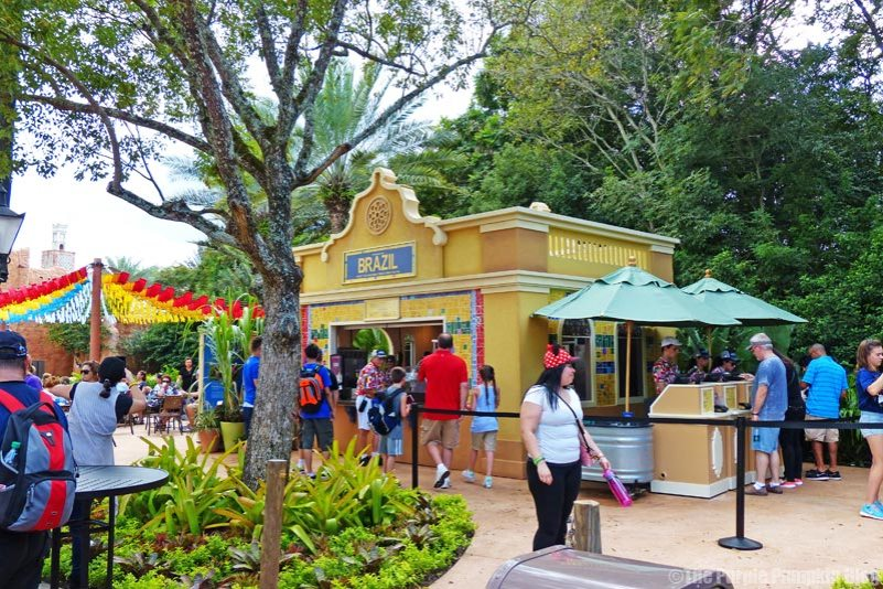 Epcot Food & Wine Festival - Brazil Booth