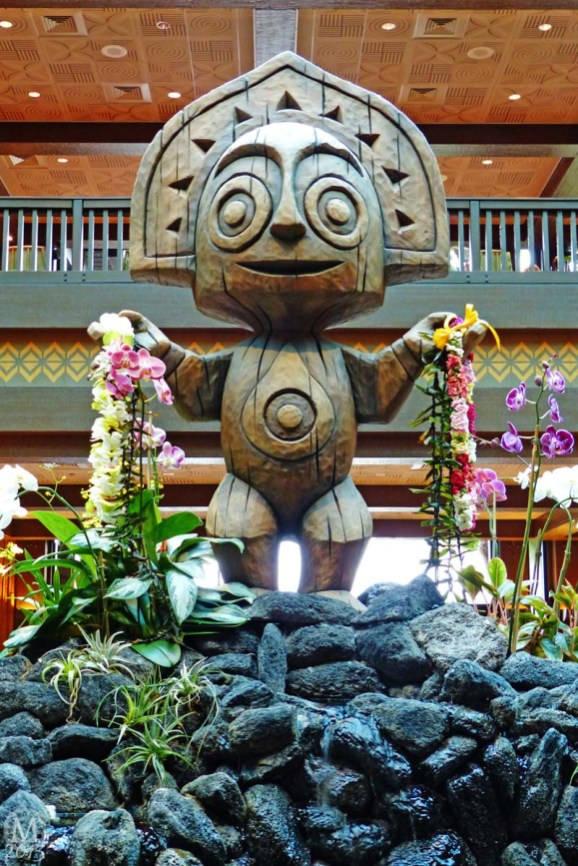 Tiki Statue at Disney's Polynesian Village Resort