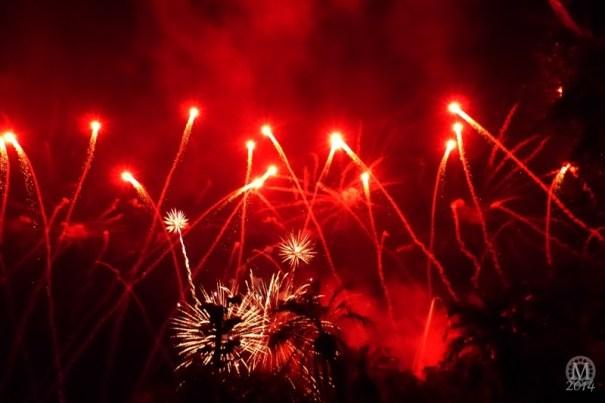 Villainy in the Sky Fireworks
