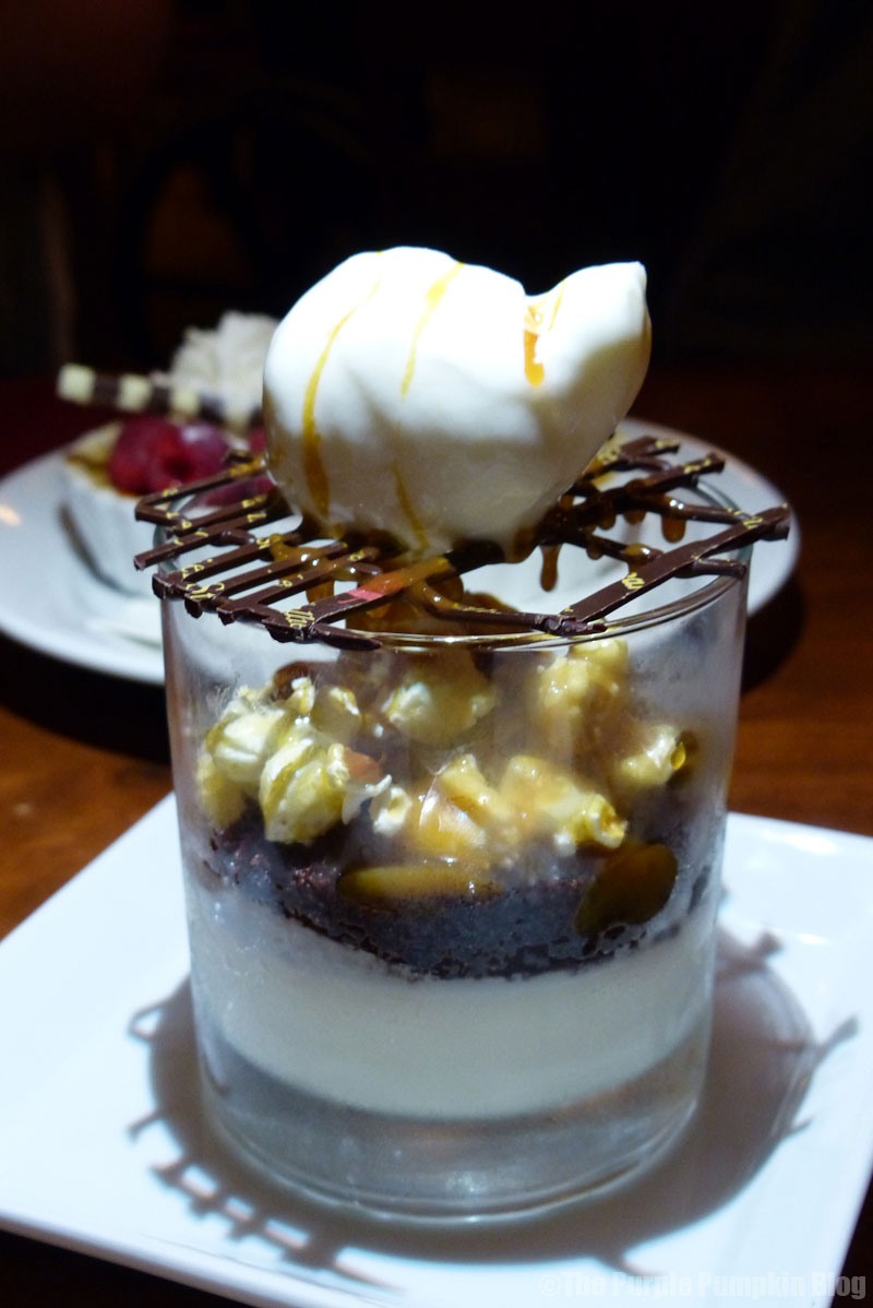 Le Cellier - Canada Pavilion - Epcot World Showcase - Chocolate Whisky Trifle