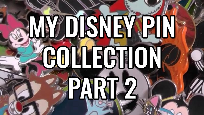 My Disney Pin Collection - Part 2