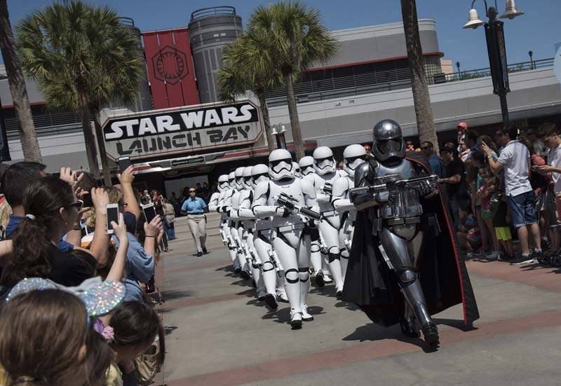 Captain Phasma + Stormtrooper march
