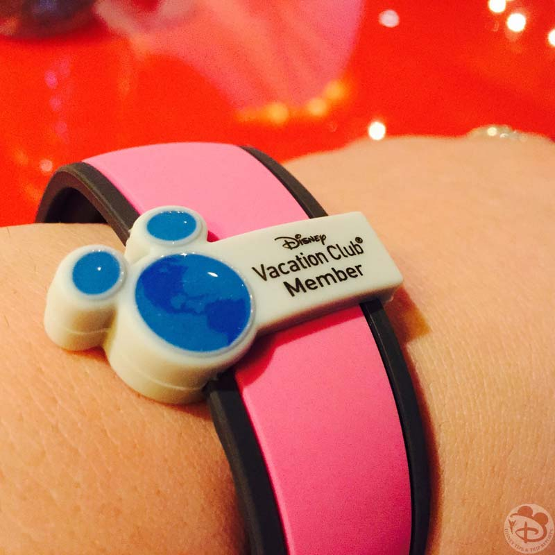 Disney Vacation Club Member Magic Band Slider