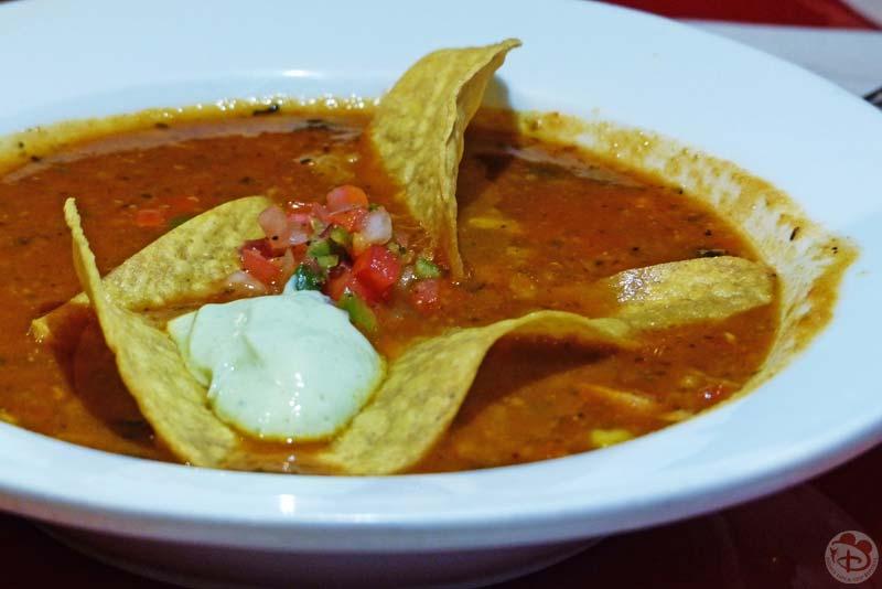 Ranger John's Chicken Tortilla Soup - Whispering Canyon Cafe
