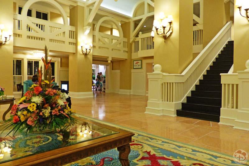 Disney's Beach Club Resort Lobby