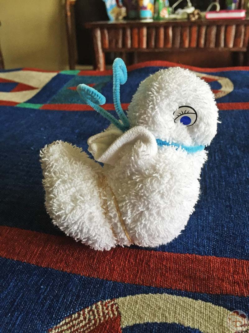 Mousekeeping Towel Critter