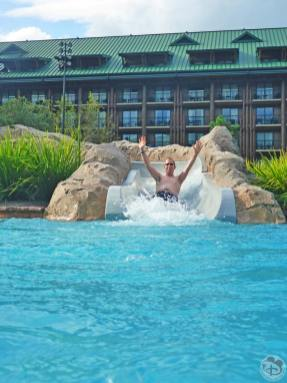 Silver Creek Springs Pool at Disney's Wilderness Lodge