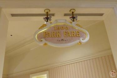1900s Park Fare at Grand Floridian