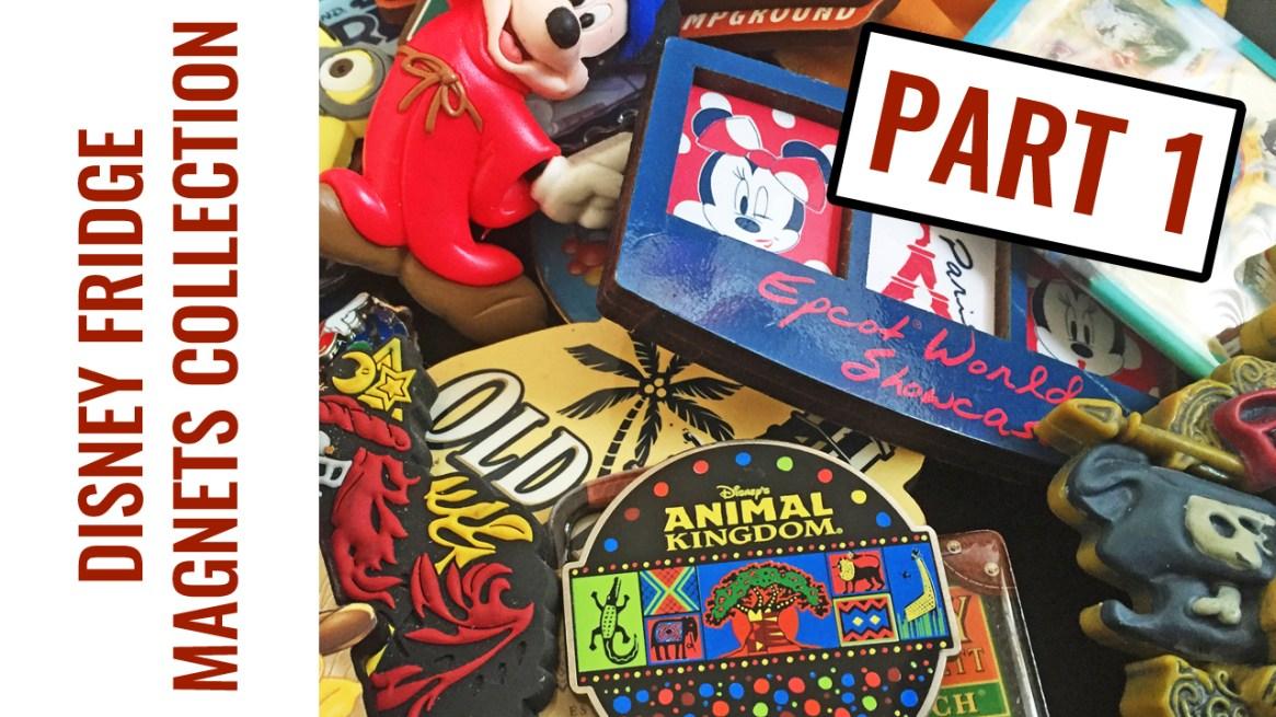 Disney Fridge Magnet Collection - Part 1