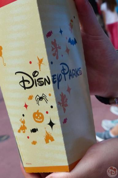 Magic Kingdom - Halloween Popcorn Box