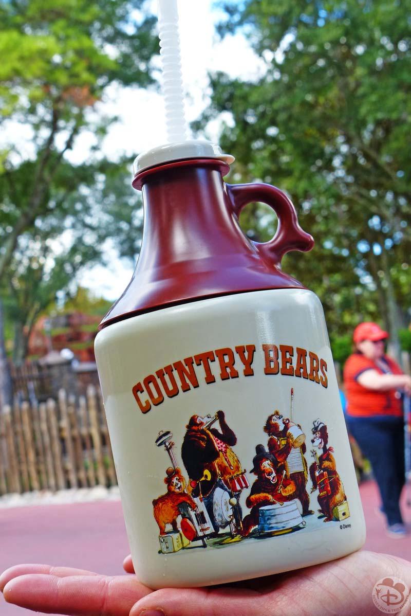 Magic Kingdom - Country Bears Souvenir Jug