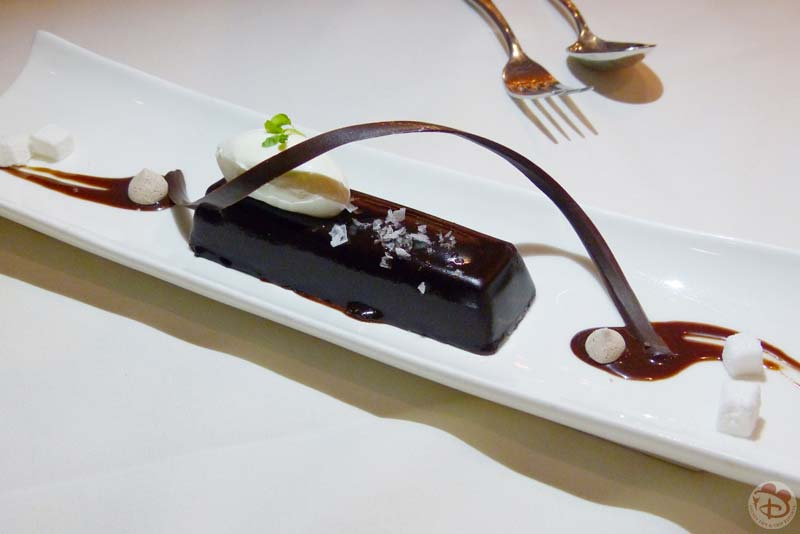 Chocolate Pudding Cake - California Grill