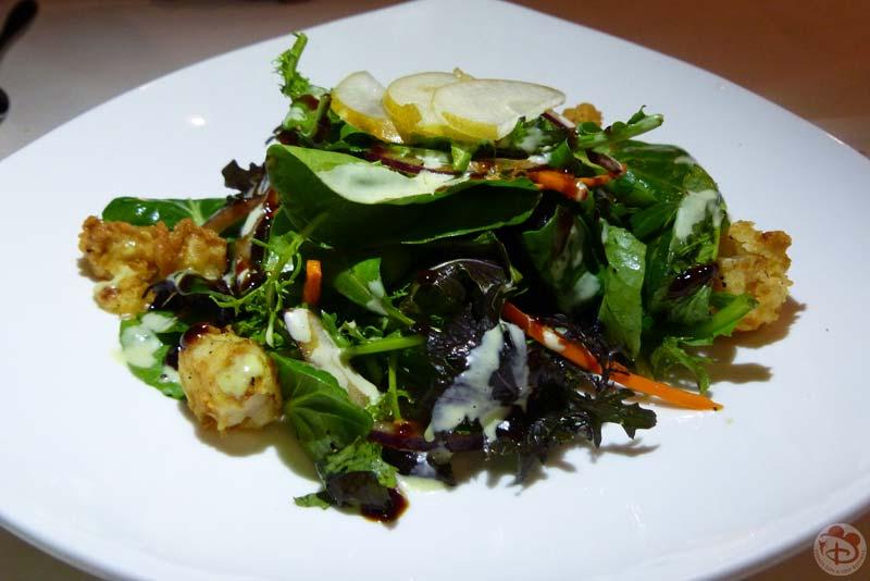 Crispy Rock Shrimp Salad - California Grill
