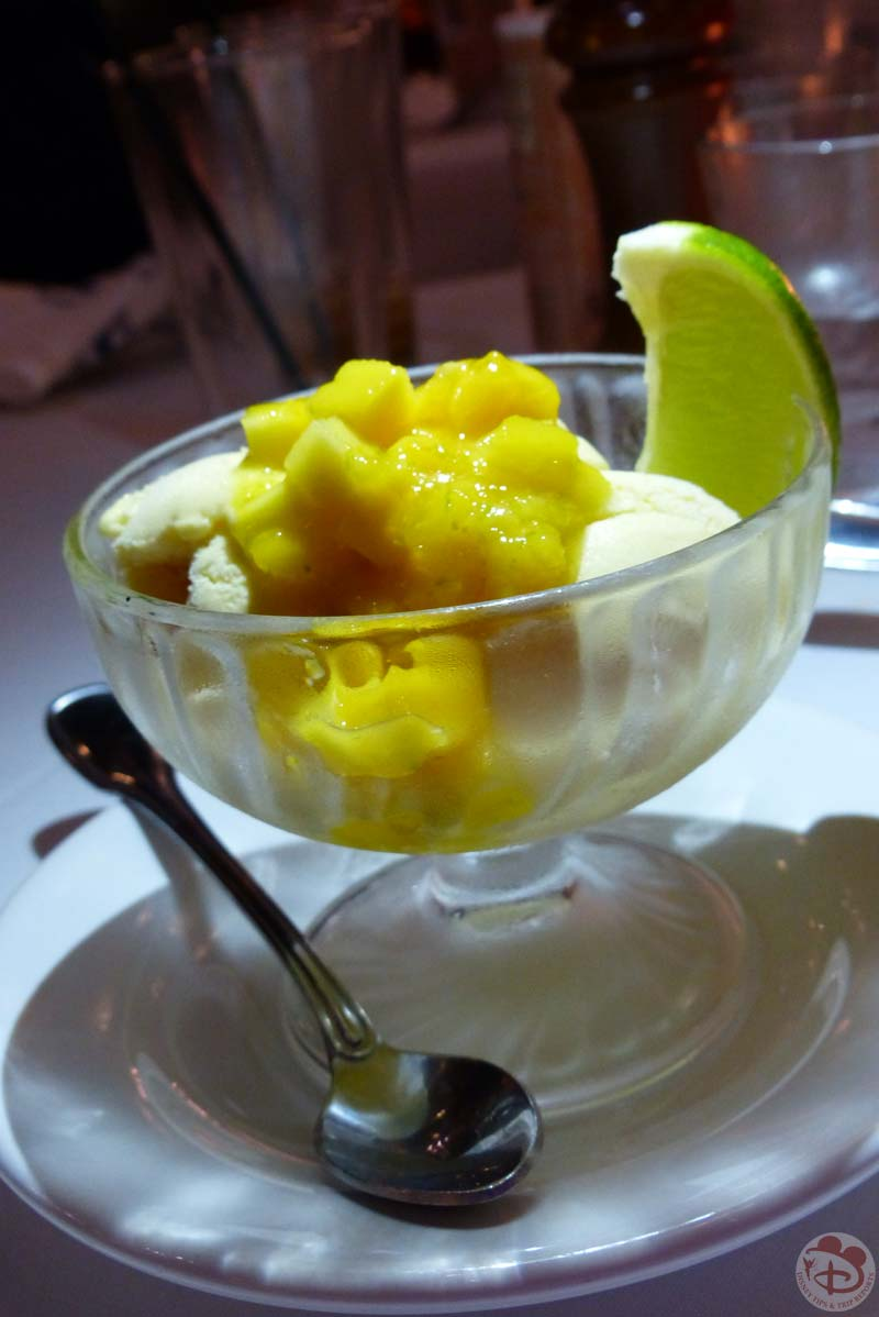 Mango Sorbet - BOATHOUSE at Disney Springs