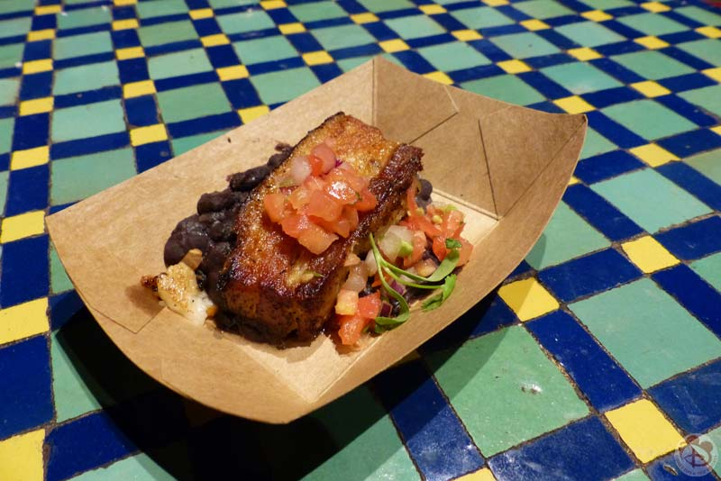 Crispy Pork Belly - Epcot Food & Wine Festival
