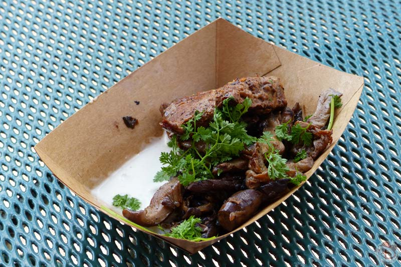 """Le Cellier"" Wild Mushroom Beef Filet Mignon - Epcot Food & Wine Festival"