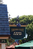 Epcot World Showcase - Yorkshire County Fish Shop