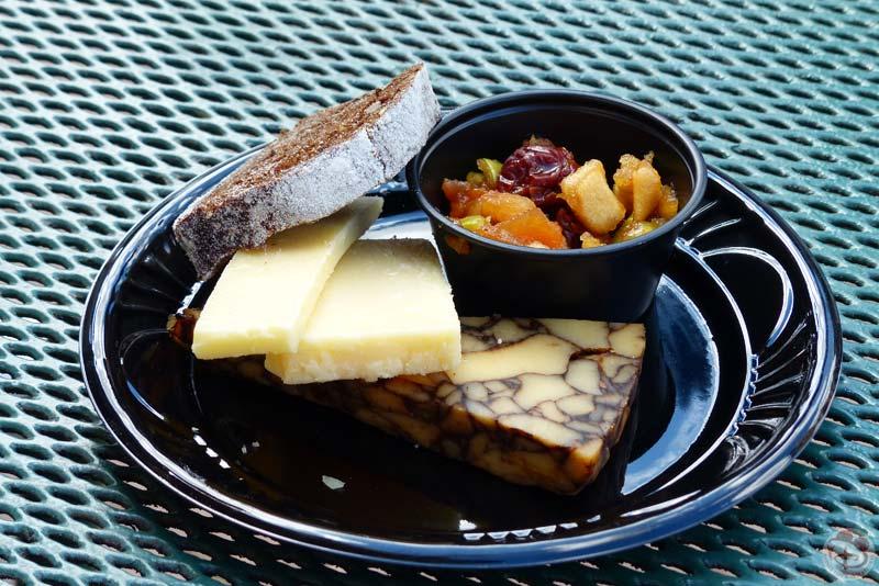 Irish Cheese Selection - Epcot Food & Wine Festival