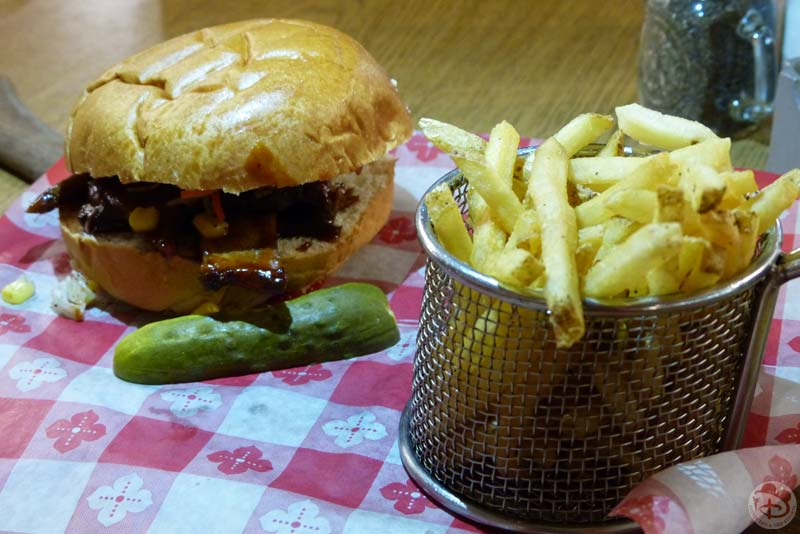 House-Smoked Beef Brisket Sandwich - Trail's End