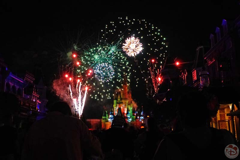 HalloWishes Fireworks Mickey's Not-So-Scary Halloween Party 2015