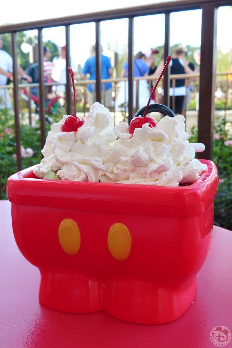 Mickey's Kitchen Sink Sundae