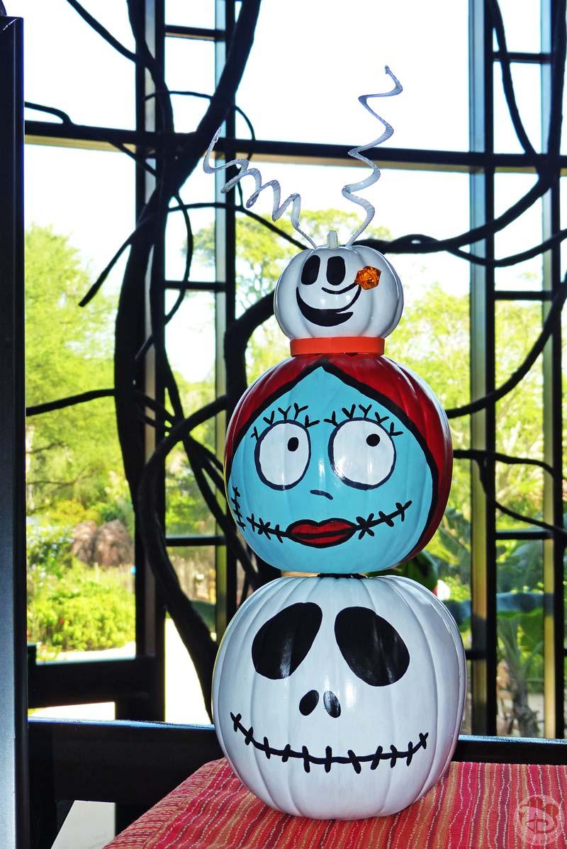 Pumpkin Decorating Contest at Animal Kingdom Lodge