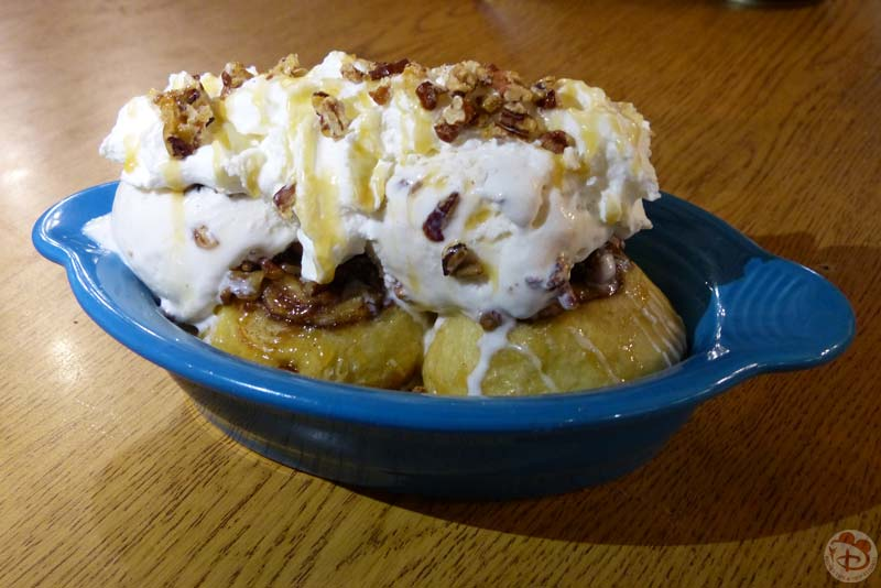 Warm Sticky Bun Sundae - Trail's End