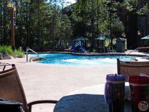 Hidden Springs Pool at Wilderness Lodge