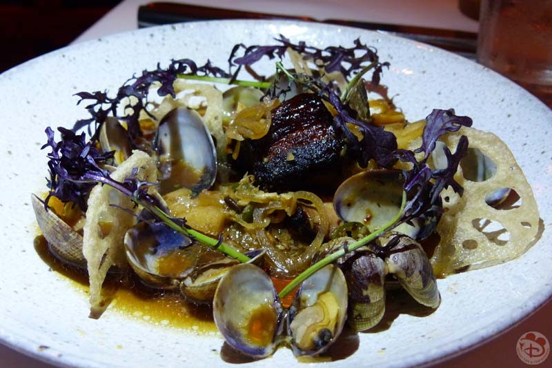 Pork Belly and Clams - Yachtsman Steakhouse