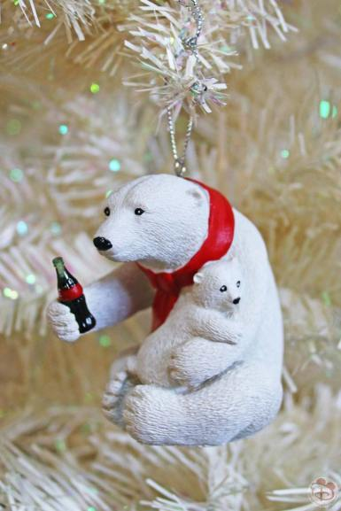 Coca-Cola Polar Bear Christmas Ornament