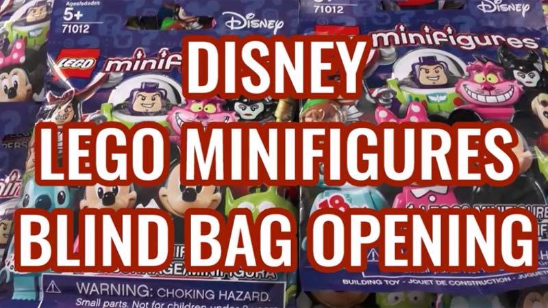 Disney LEGO Minifigures - Blind Bag Opening of LEGO Minifigs