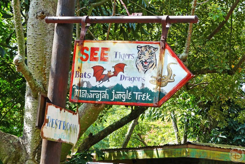Maharajah Jungle Trek - Disney's Animal Kingdom