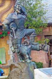 Gaston & LeFou Statue - Magic Kingdom