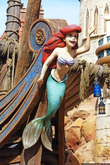 Ariel Statue - Magic Kingdom