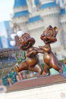 Chip n Dale Statue - Magic Kingdom