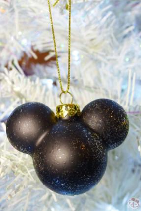 Mickey Mouse Ears/Head Disney Christmas Ornament