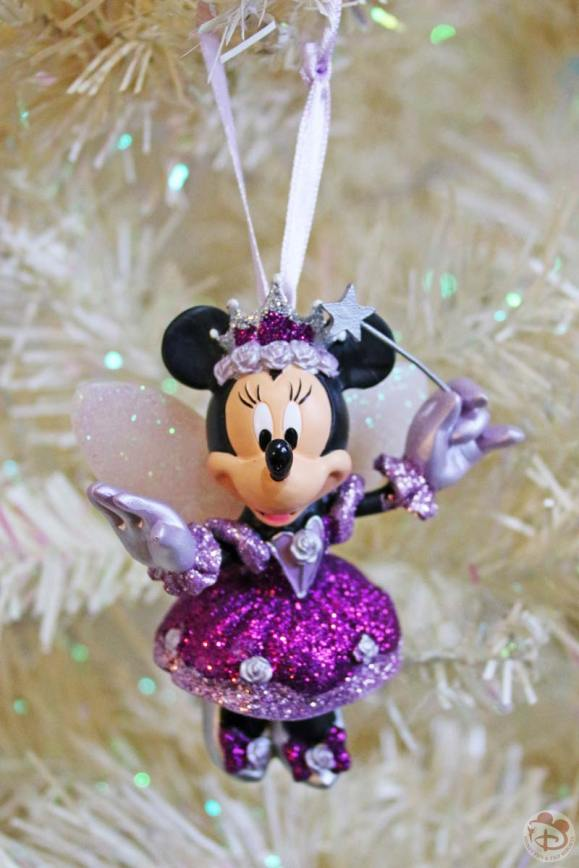 Minnie Mouse Purple Fairy Disney Christmas Ornament