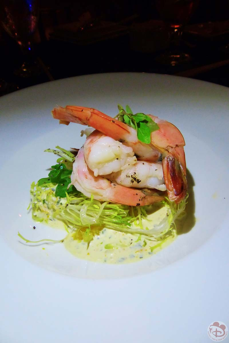 Slow-Poached and Chilled Shrimp - Narcoossee's at Grand Floridian