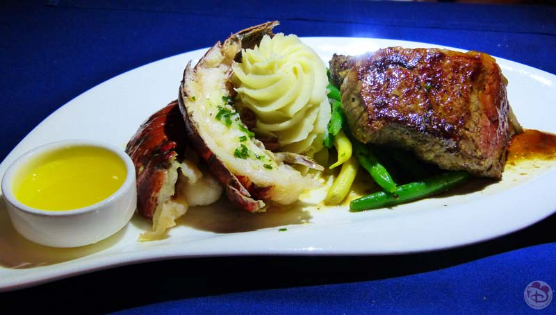 Surf 'n' Turf - Narcoossee's at Grand Floridian