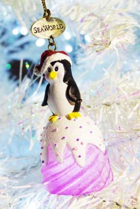SeaWorld Christmas Ornaments