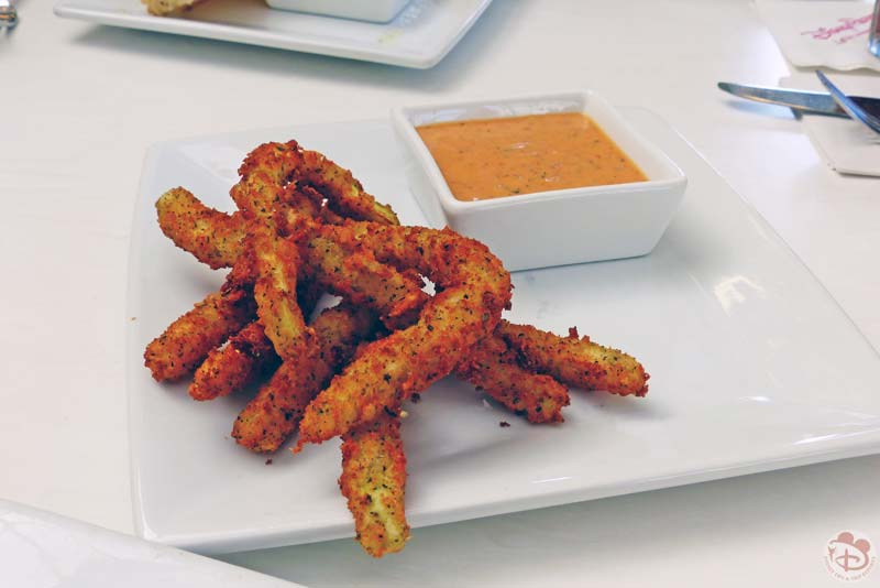 Zucchini Fries - Tony's Town Square Restaurant