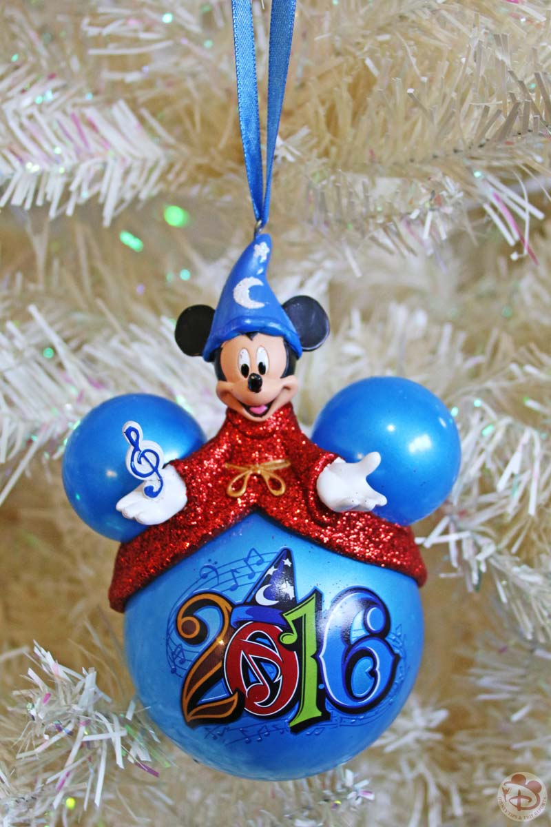 walt disney world 2016 mickey mouse christmas ornament