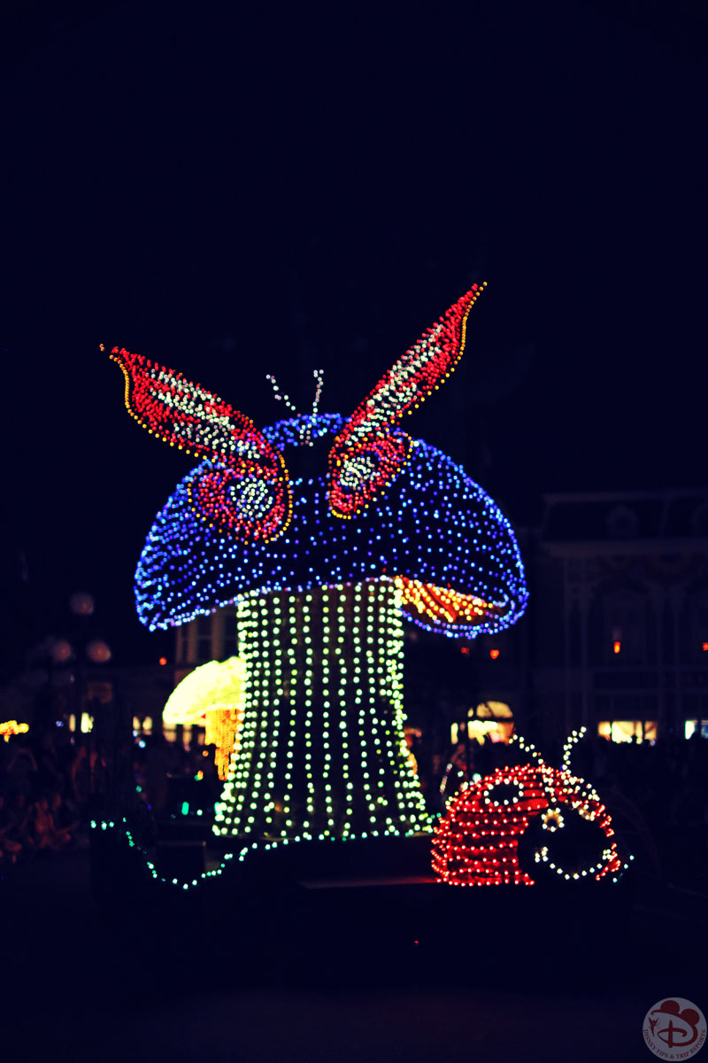 Day 9: Two Parks, One Day » Animal Kingdom / Lunch at Tiffins / Magic Kingdom / Main Street Electrical Parade
