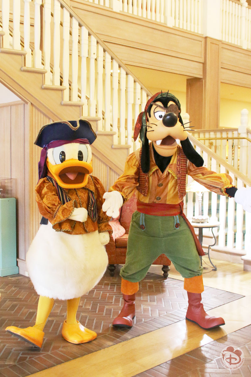 Donald Duck & Goofy at Disney's Vero Beach Resort